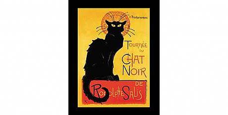 חתול שחור עבר